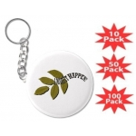 I Make It Happen Green Leaf Key Chain Multi-Packs