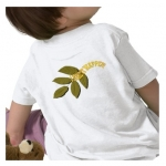 I Make It Happen Green Leaf Babies Short Sleeve Shirt