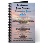 To Achieve Your Dreams Remember Your ABCs Florida Keys Sunset Journal