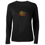 InspirationMotivation.com Fiery Logo Womens Long Sleeve T-Shirt
