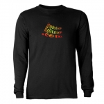 InspirationMotivation.com Fiery Logo Mens Long Sleeve T-Shirt