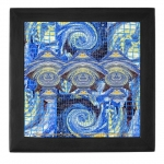 Van Gogh Series Visitors From A Starry Night Black Keepsake Box