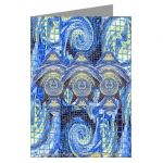 Van Gogh Series Visitors From A Starry Night Greeting Cards
