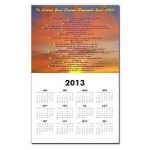 To Achieve Your Dreams Hawaiian Sunset Calendar
