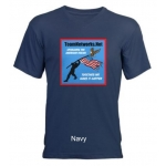 TeamNetworks.Net Men's Walking The Walk V-Neck T-Shirt | InspirationMotivation.com