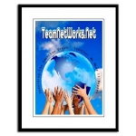 TeamNetWorks.Net Upholding The American Dream Large Framed Poster Print | InspirationMotivation.com