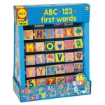 ABC 123 First Words Wood Blocks (Alex Toys)
