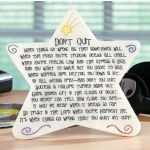 Don't Quit Star Plaque by Abbey Press