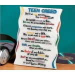 Teen Creed Marble Plaque by Abbey Press