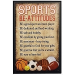 Sports Be-Attitudes Plaque by Abbey Press