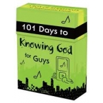101 Days to Knowing God for Guys Cards (Christian Art Gifts)
