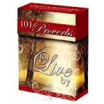 101 Proverbs to Live by Cards by Christian Art Gifts