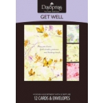 Whispers of Grace Get Well Cards with Envelopes by Dayspring