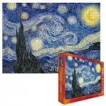 Vincent Van Gogh Starry Night 1000 Piece Puzzle
