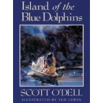 Island of the Blue Dolphins by Scott O'Dell (Large Print)- Hardcover
