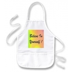 Believe In Yourself Rainbow Kids Apron