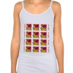 Love Bubbles Out Girls' Spaghetti Strap Tank Top | InspirationMotivation.com