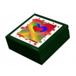 Love Bubbles Out Tiled Gift Box | InspirationMotivation.com