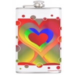 Love Bubbles Out Flask | InspirationMotivation.com